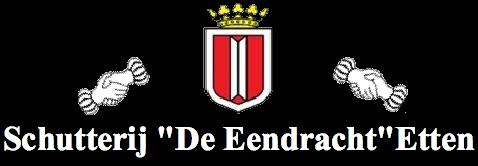 """Schutterij """"De Eendracht"""" Etten logo"""